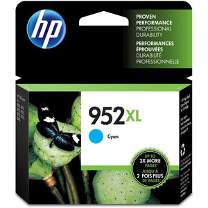 HP,Cartridge Ink #952XL,Cyan