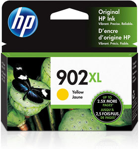 HP,Cartridge Ink #902,Yellow