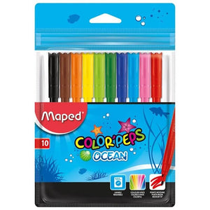 Maped ,Marker,Color Peps,Ocean,Pk of 10