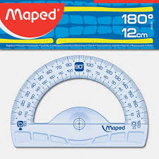 Maped,Ruler,Geometric,Protractor,108 Degrees