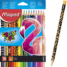 Maped ,Marker,Color Peps,Animal,Pk of 18