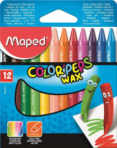 Maped,Crayon,Was,Pk of 12
