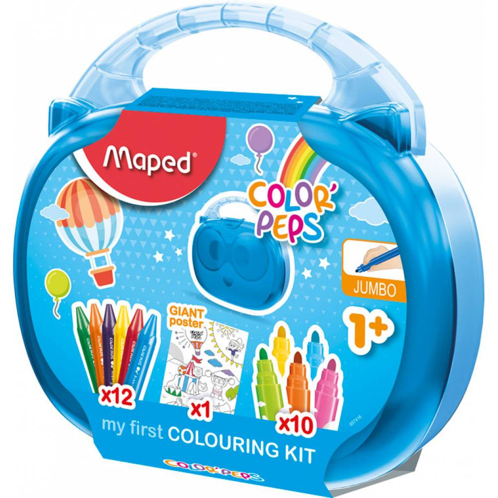 Maped,Case,Color Peps,23 Pieces