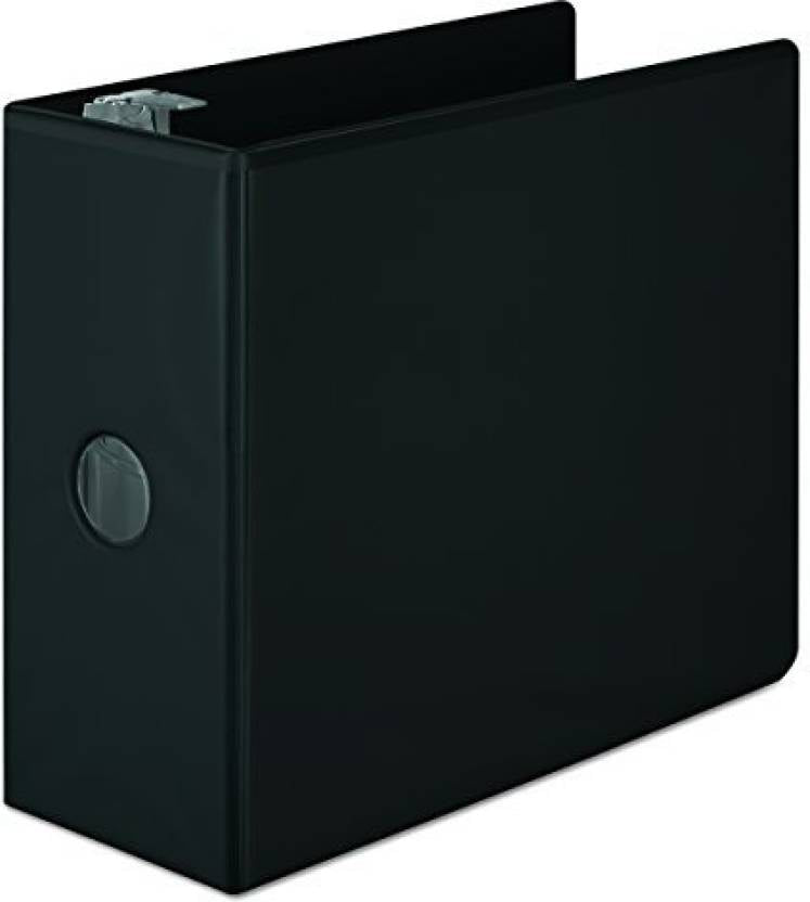 Wilson Jones,Binder,5 Inch,D-Ring,Black