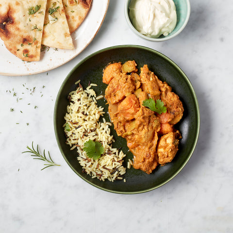 Bollywood kitchen : butter chicken et riz basmati