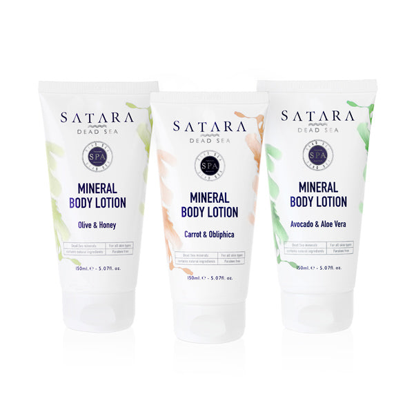 MINERAL BODY LOTION SATARA DEAD SEA (5404351692967)