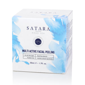 SATARA DEAD SEA MULTI ACTIVE FACIAL PEELING (5404310208679)