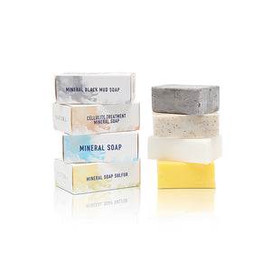 MINERAL SULFUR BODY SOAP for Oily Skin