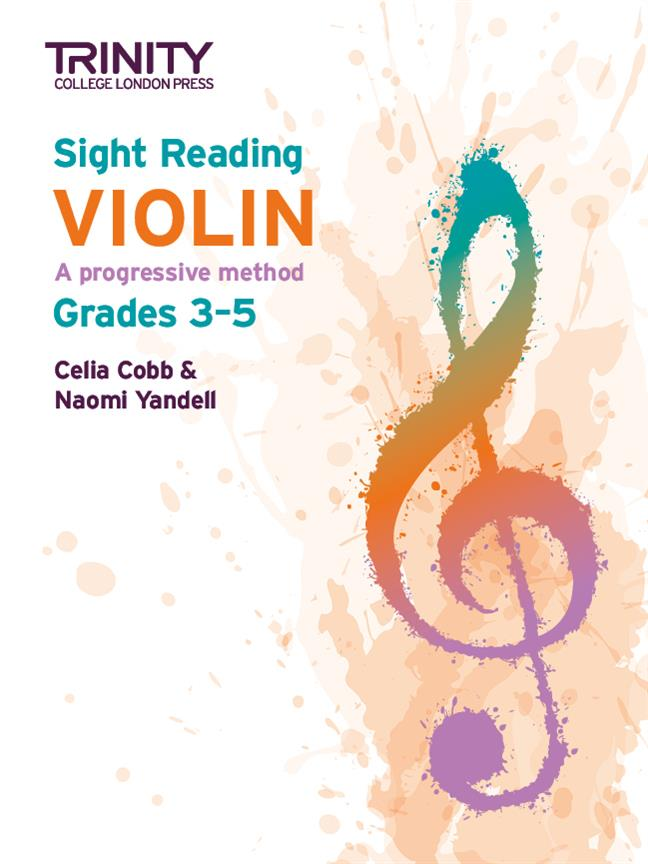 Sight-Reading Violin: A Progressive Method Grades 3-5