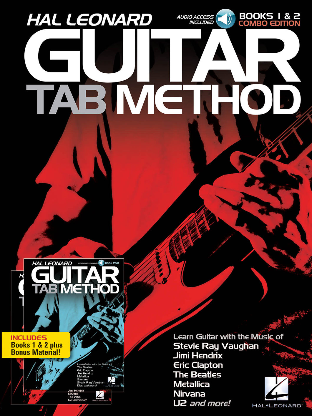 Hal Leonard Guitar Tab Method Books 1&2