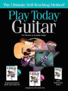 Play Today Guitar: Complete Kit