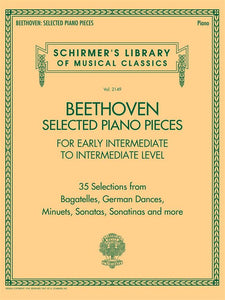 Beethoven: Selected Piano Pieces for Early Intermediate to Intermediate Level