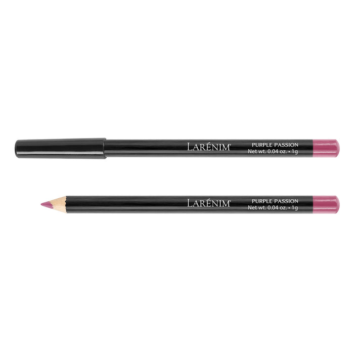 Larenim Purple Passion Ultra Wear Lip Pencil | Sculpts, Enhances & Defines Lips | Extends Wear of Lipstick or Lip Gloss | No Gluten | 1g