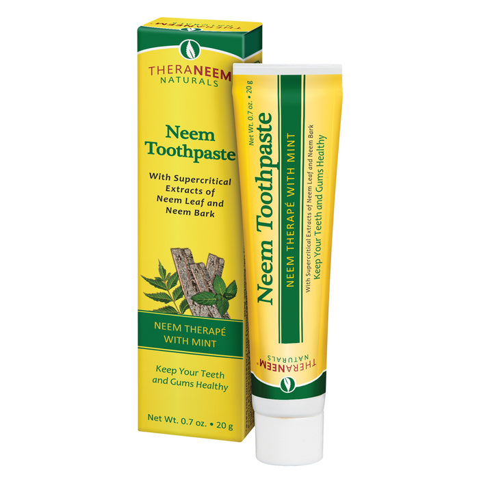 TheraNeem Neem Therape Toothpaste | Supports Healthy Teeth, Gums & a Fresh Mouth | No Fluoride & Vegan