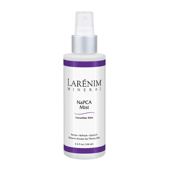 Larenim NaPCA Mist Cucumber Aloe | Natural Skin Moisturizer | Hydrate Body & Face, pH Balanced | No Oil or Scent | Vegan, No Parabens | 5.3fl oz