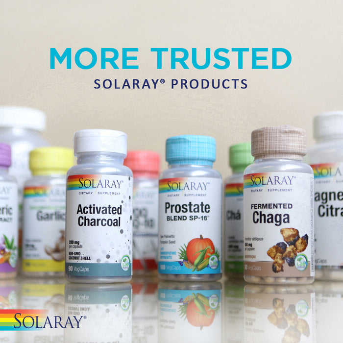 Solaray Pure CoQ-10 200 mg | Healthy Heart Function & Cellular Energy Support | Enhanced with Herb Blend | 30 VegCaps