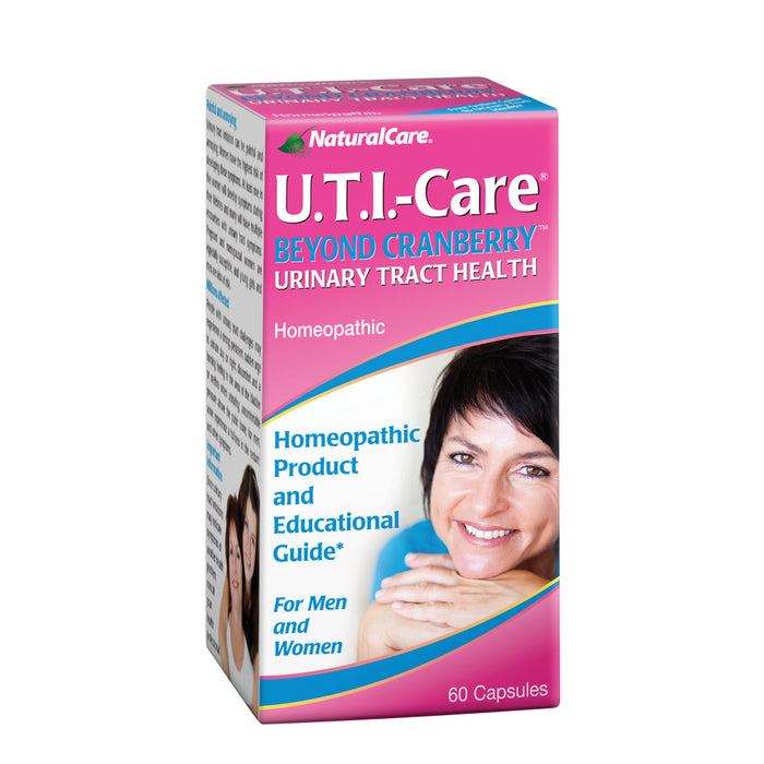 NaturalCare UTI Care | Homeopathic Urinary Tract Health | Potent Cranberry | May Support Bladder Health | 60 Capsules