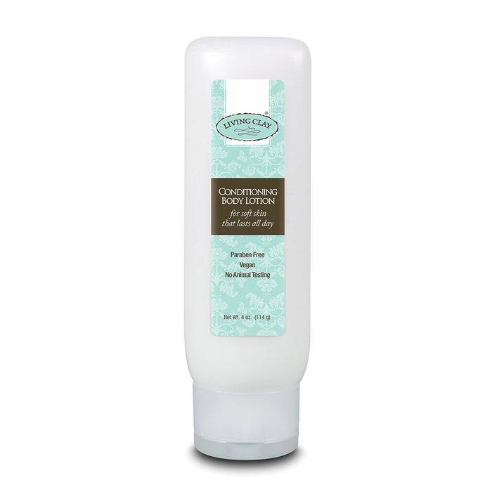 Living Clay Conditioning Body Lotion, Lotion, Unscented (Tube) 4oz