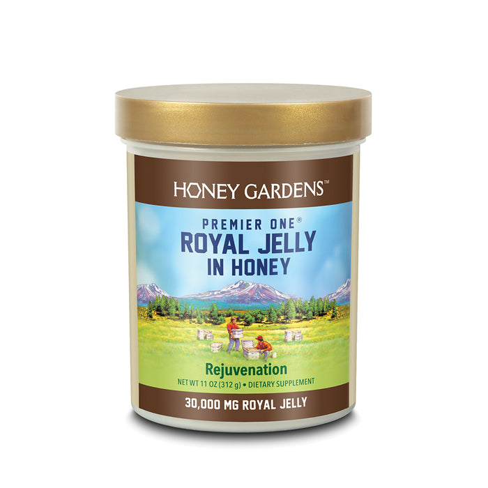 Honey Gardens Premier One Royal Jelly In Honey | 30000mg | 11oz