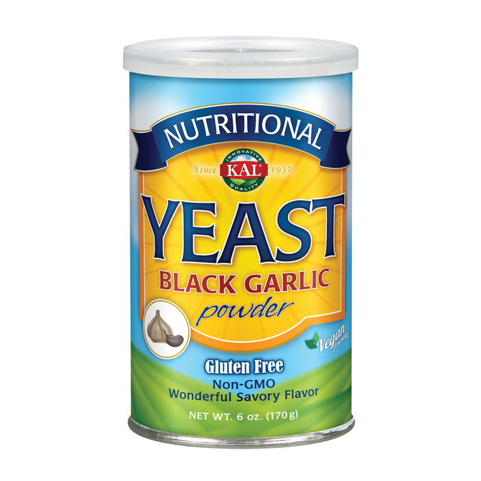 KAL Nutritional Yeast Black Garlic  6oz