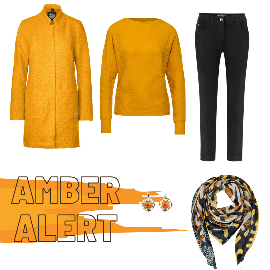 Amber Yellow On Trend