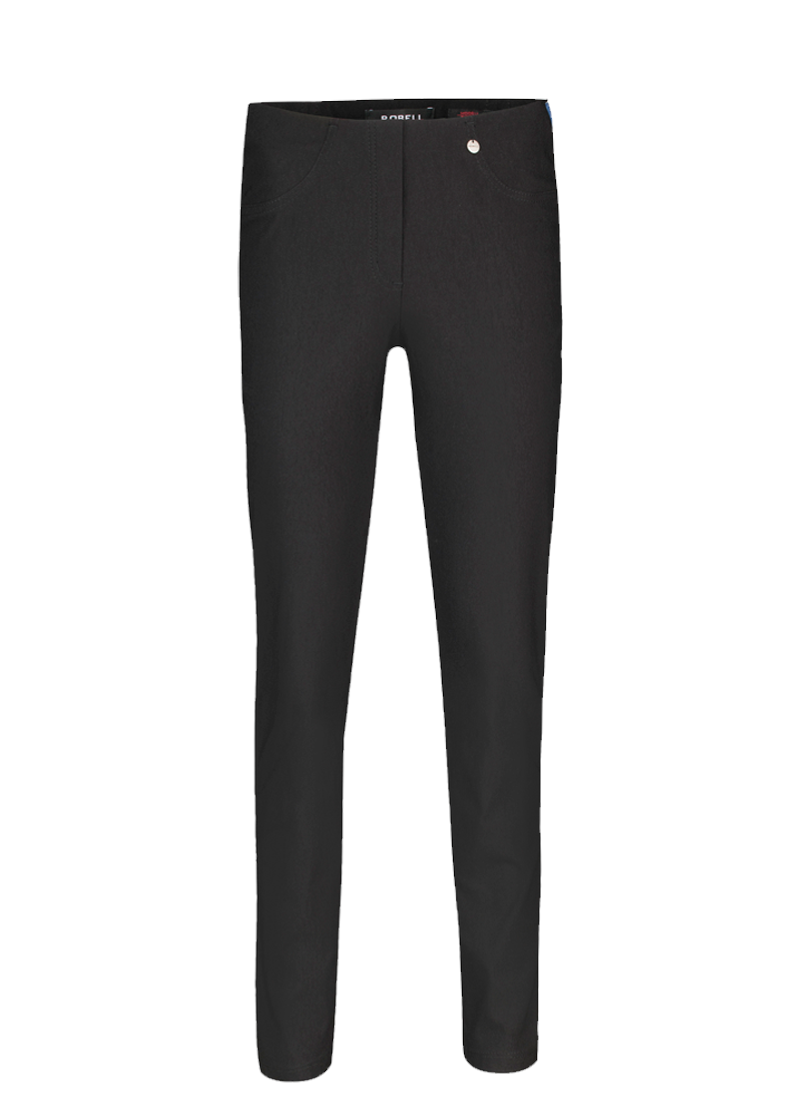 Robell Bella Black Trousers