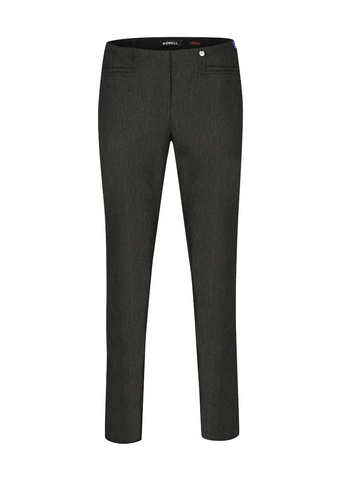 Robell Jacklyn Charcoal Trousers