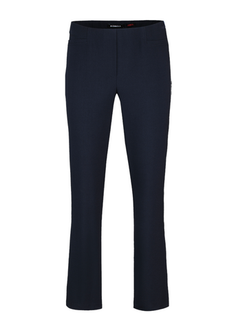 Robell Jacklyn Navy Trousers