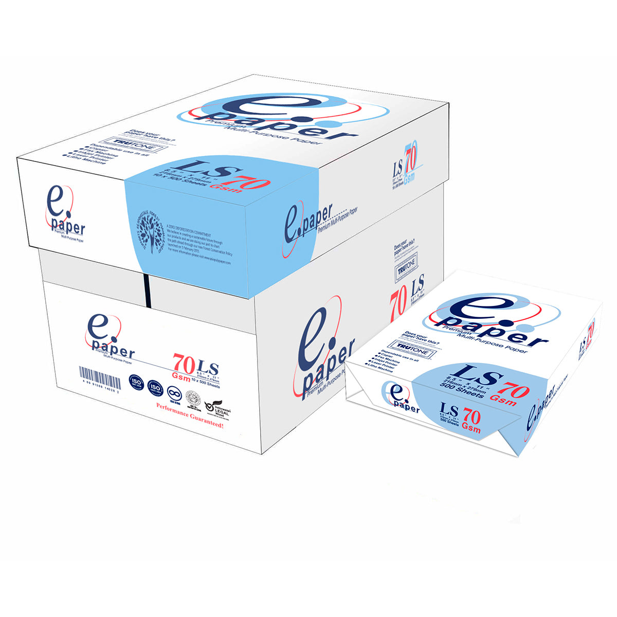 PAPEL BOND CARTA E.PAPER 70 GR