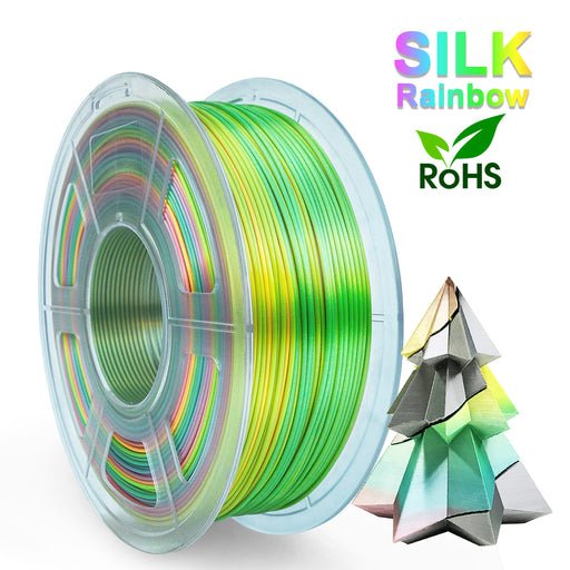 10 rolls of PLA Silk Rainbow Filament 1.75mm - Enotepad