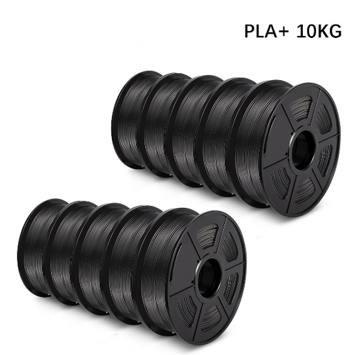 10 Rolls of PLA PLUS (PLA+) 1.75mm Filament 10kg/22lbs Neat Winding - Enotepad