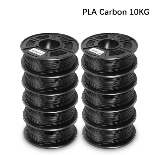 10 Rolls of PLA Carbon Fiber 1.75mm Filament 11kg/22lbs - Enotepad