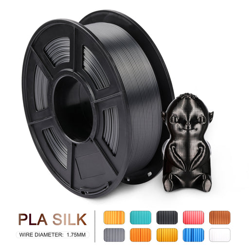 PLA SILK 1.75mm Filament 1kg/2.2lbs. Fit most of FDM 3D printer - Enotepad