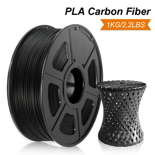 PLA Carbon Fiber 1.75mm Filament 1kg/2.2lbs. Compatible for SUNLU/Creality/Anycubic. Fit most of FDM 3D printer - Enotepad