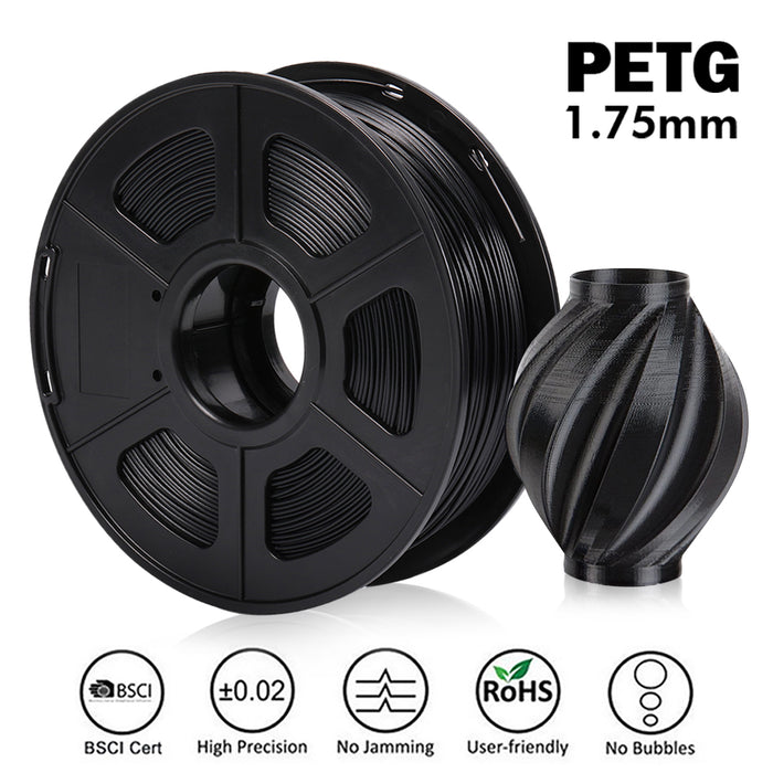 UK Promotion: PETG 1.75mm Filament 1kg/2.2lbs. Fit most of FMD Printer - Enotepad