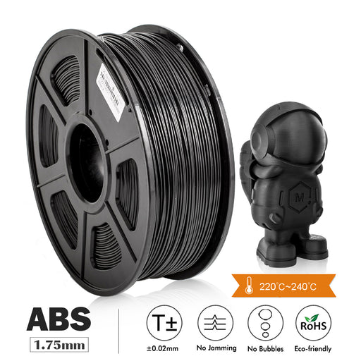 ABS 1.75mm 3D Printer Filament 1kg/2.2lbs, Most of FMD Printer - Enotepad