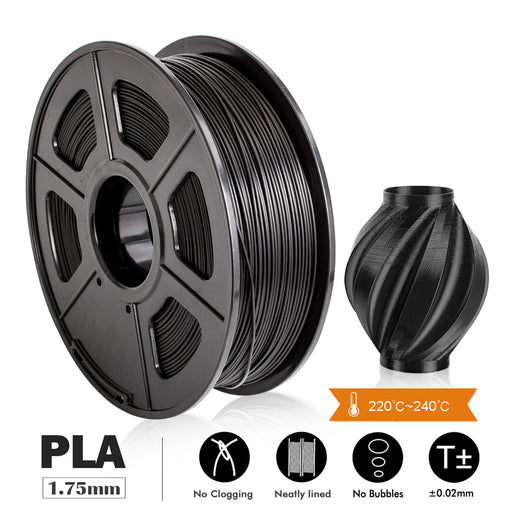 PLA 1.75mm filament 1kg/2.2lbs.Fit most of FDM 3D printer. Your favorite best filament - Enotepad