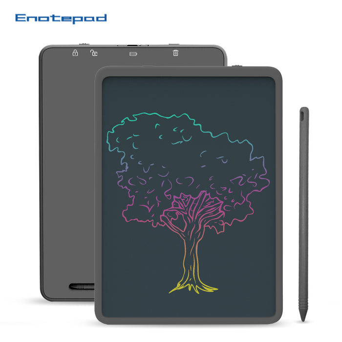 Enotepad LCD Writing Tablet 11 Inch, Electronic Colorful Screen Drawing Board Tablets Doodle Board Writing Pad for Kids at Home, School and Office - Enotepad