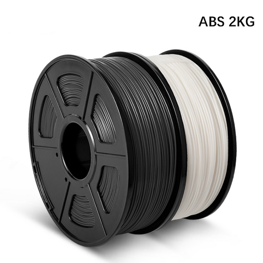 2 Rolls ABS 3D Printer Filament 1.75mm 2kg/4.4LBS - Enotepad