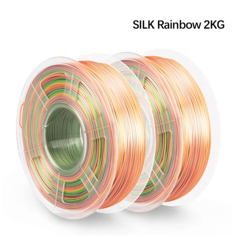 2 rolls of PLA Silk Rainbow Filament 1.75mm - Enotepad