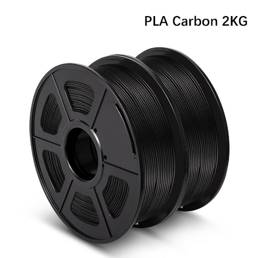 2 Rolls of PLA Carbon Fiber 1.75mm Filament 1kg/2.2lbs - Enotepad