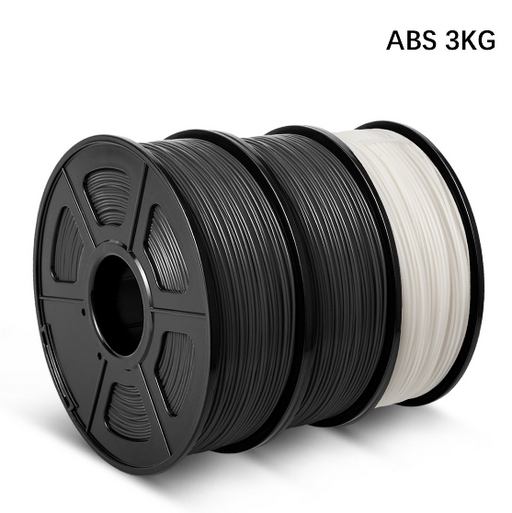 3 Rolls ABS 3D Printer Filament 1.75mm 3kg/6.6LBS - Enotepad