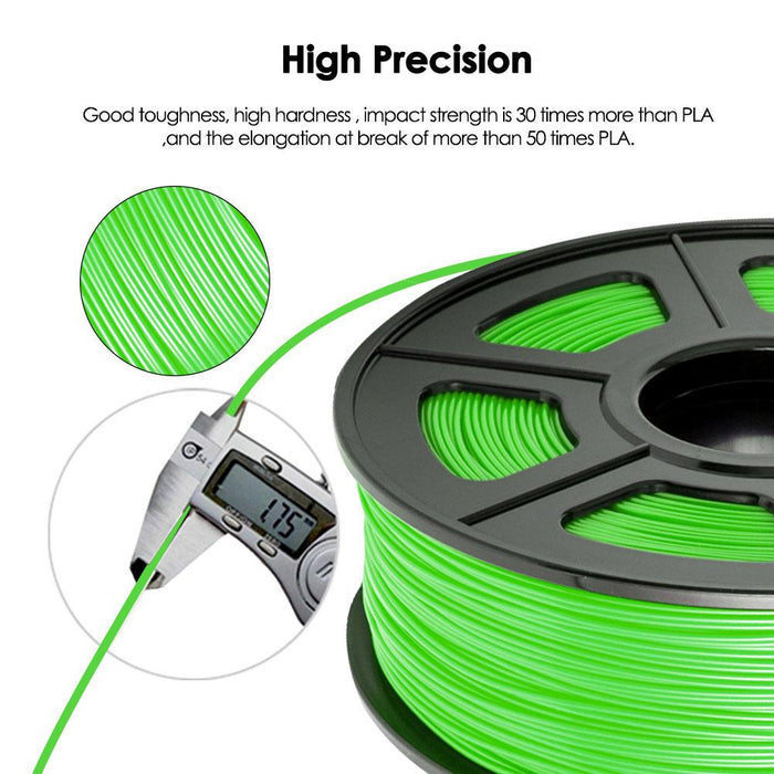 PETG 1.75mm Filament 1kg/2.2lbs. Fit most of FMD Printer - Enotepad