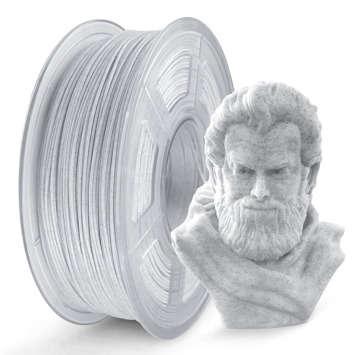 UK Promotion: PLA Marble 1.75mm filament 1kg/2.2lbs. Fit most of FDM 3D printer - Enotepad