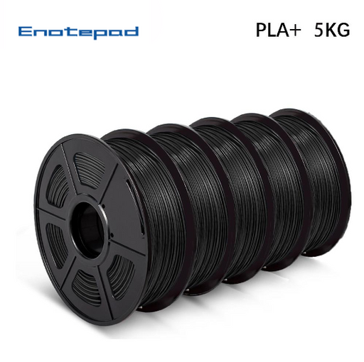 Pre-Sale UK Promotion: 5 Rolls of PLA PLUS (PLA+) 1.75mm Filament 5kg/11lbs Neat Winding - Enotepad