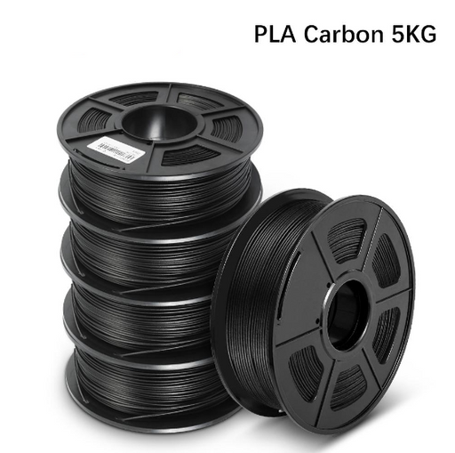 5 Rolls of PLA Carbon Fiber 1.75mm Filament 1kg/2.2lbs - Enotepad