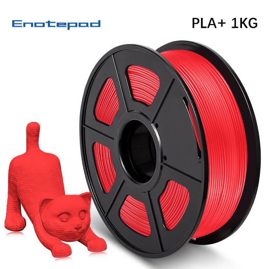 Pre-Sale UK Promotion: 2 rolls PLA PLUS (PLA+) 1.75mm Filament 2kg/4.4lbs Neat Winding - Enotepad