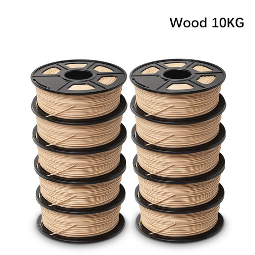 10 Rolls of  Wood 3D Filament , Fits most of 3D Printers - Enotepad