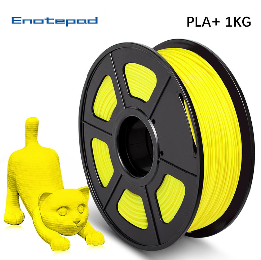 UK Promotion: 10 Rolls of PLA PLUS (PLA+) 1.75mm Filament 10kg/22lbs Neat Winding - Enotepad