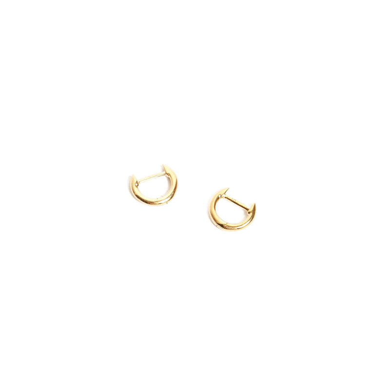 Round Huggie Extra Small - 9ct Gold